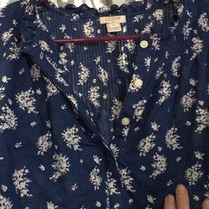 J. Crew Tops - J Crew long sleeve blouse.